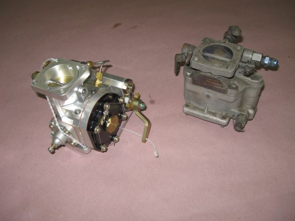 Mechanical fuel injection testing flycorvair above on the left is the precision fuel injector on the right for size comparison is an ma3 spa marvel schebler carburetor the most popular corvair freerunsca Choice Image